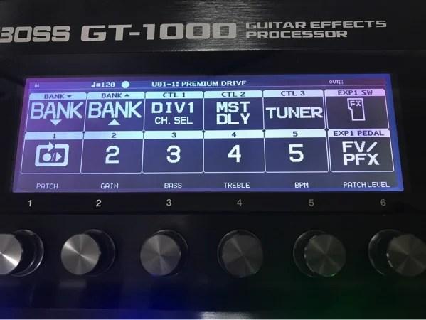 Th BOSS GT-1000  3464