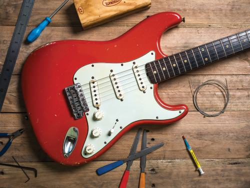small resolution of red stratocaster mods upgrades