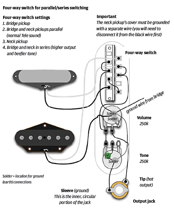 fender strat wiring diagram 5 way switch cat 6 wire 25 telecaster tips mods and upgrades guitar com all screen shot 2016 06 13 at 14 45 42