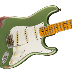 an absolutely gorgeous guitar the limited edition relic 64 special stratocaster pops with a unique colour over colour finish  [ 1200 x 943 Pixel ]