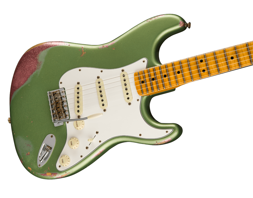 medium resolution of an absolutely gorgeous guitar the limited edition relic 64 special stratocaster pops with a unique colour over colour finish