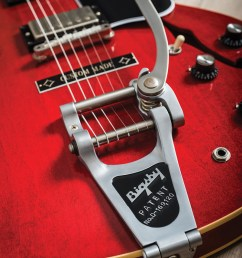 if all of that sounds like a pain in the tailpiece you have other options a bigsby b3 or b6 doesn t have a tension bar so you don t need to drill into  [ 801 x 1200 Pixel ]