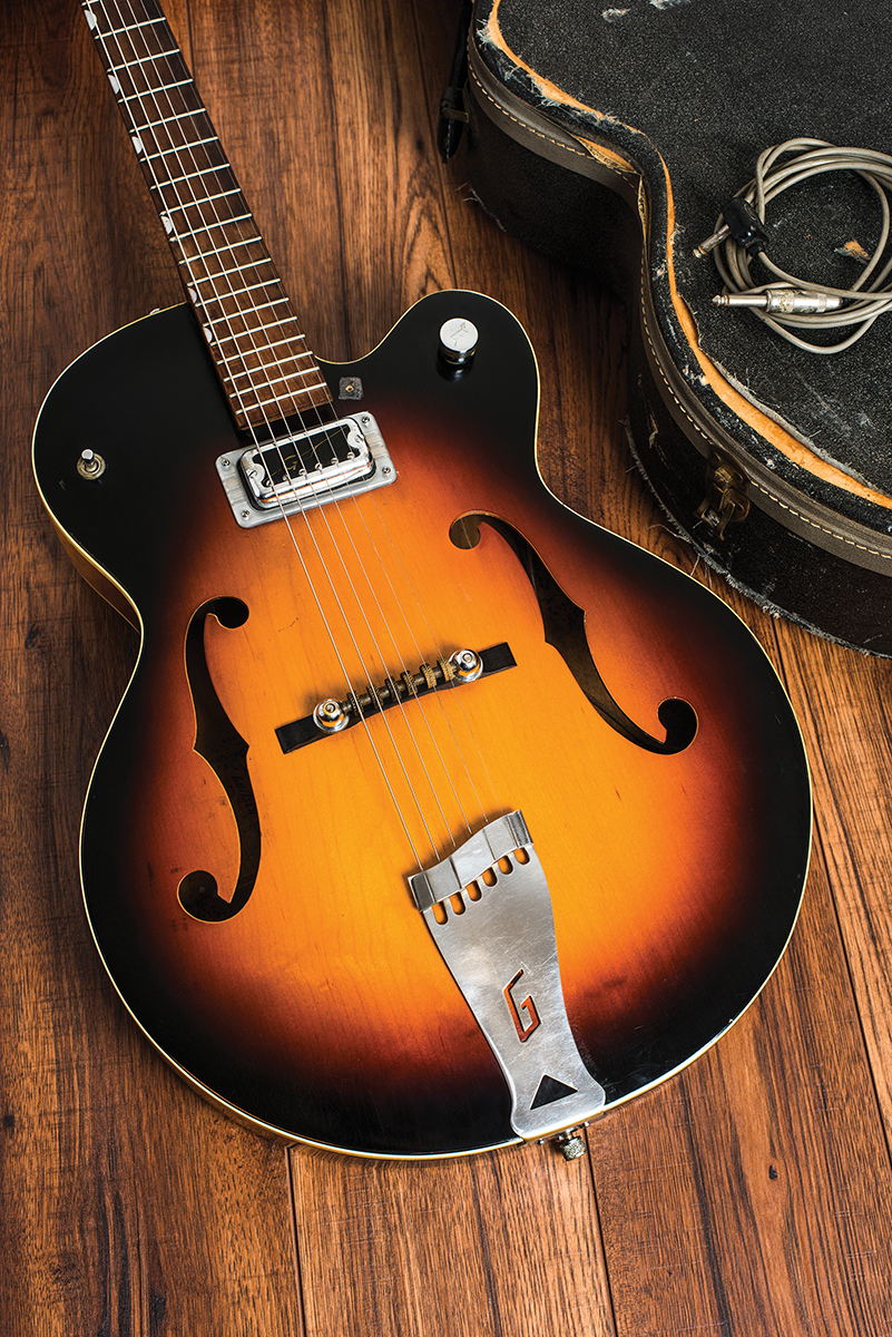 medium resolution of a 1960 single anniversary model complete with hilo tron pickup gretsch