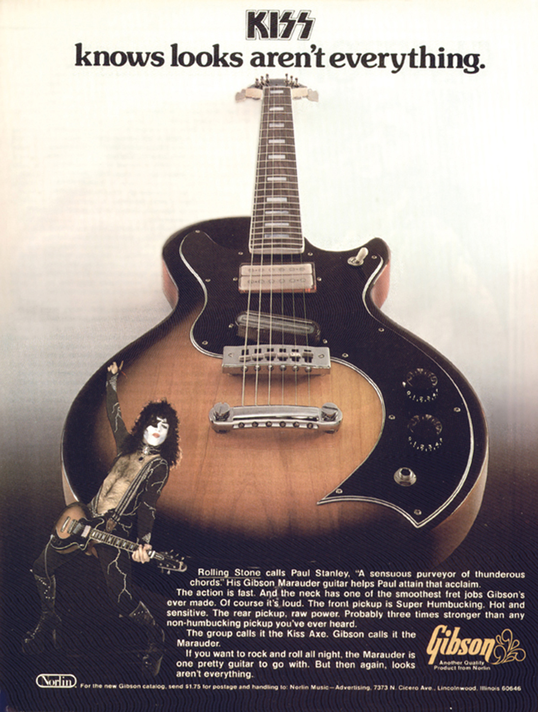 hight resolution of the marauder was endorsed by yes paul stanley