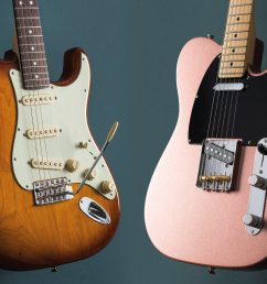 fender american perofrmer stratocaster and telecaster [ 1400 x 1050 Pixel ]
