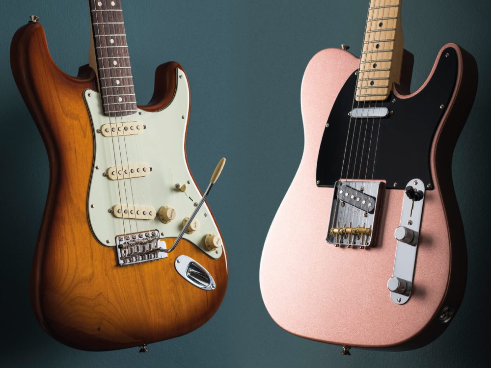 medium resolution of fender american perofrmer stratocaster and telecaster