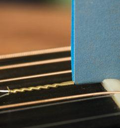 electric guitar nut sandpaper file [ 1402 x 1049 Pixel ]