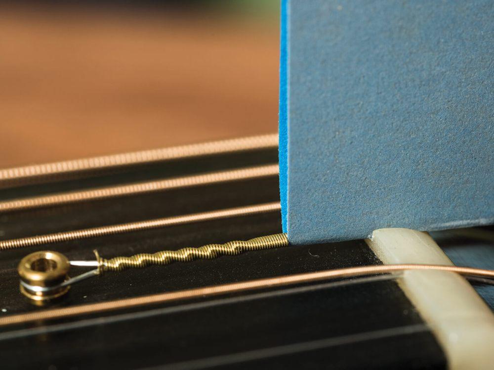 medium resolution of electric guitar nut sandpaper file