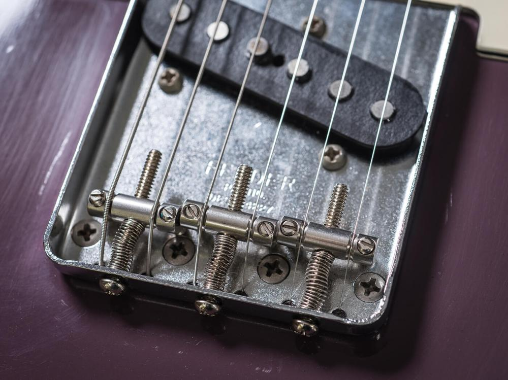 medium resolution of fender experimented with the materials of tele saddles almost from the start and the different metals will give different tonal outcomes