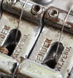 vintage fender stratocaster saddles bridge [ 1400 x 1050 Pixel ]