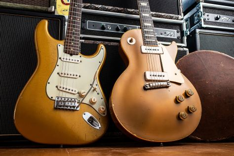 Bob Wootton's Stratocasters