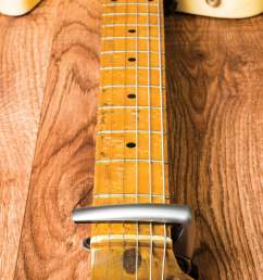 image of a telecaster neck being adjusted [ 1401 x 1867 Pixel ]