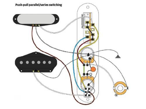 small resolution of  tele without swapping the three way switch or changing the outward appearance putting hum cancelling properties aside for a moment humbucking pickups