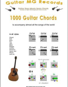Guitar chords booklet to download also pdf rh records