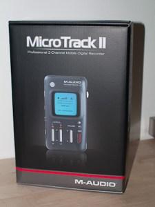 MicrotrackII M-Audio