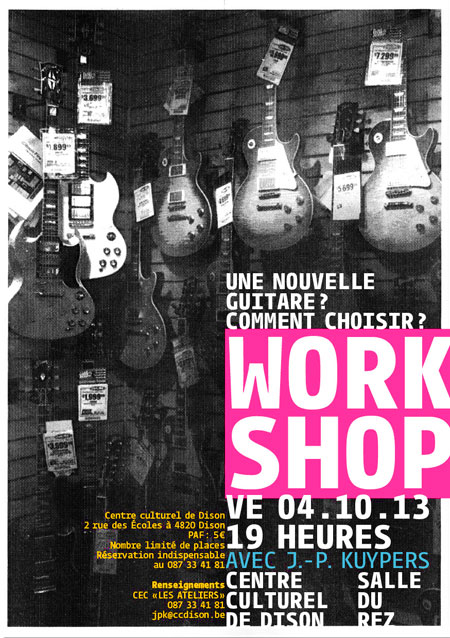 "Workshop ""nouvelle guitare"""
