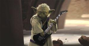 Commencer par la guitare acoustique tu devras, jeune Padawan!