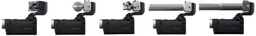 Caméra Zoom Q8 : les modules de microphones optionnels