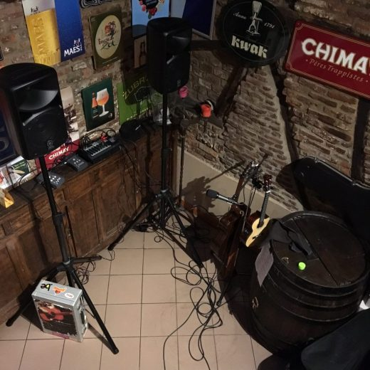 Fête de la musique : mon espace de travail du jour