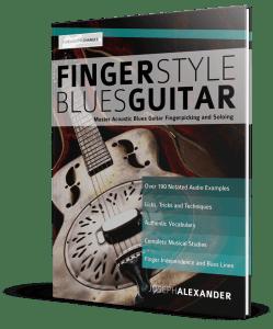 Lecture : Fingerstyle Blues Guitar (image de l'éditeur)