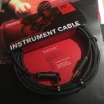 D'Addario Planet Waves American stage circuit breaker cable