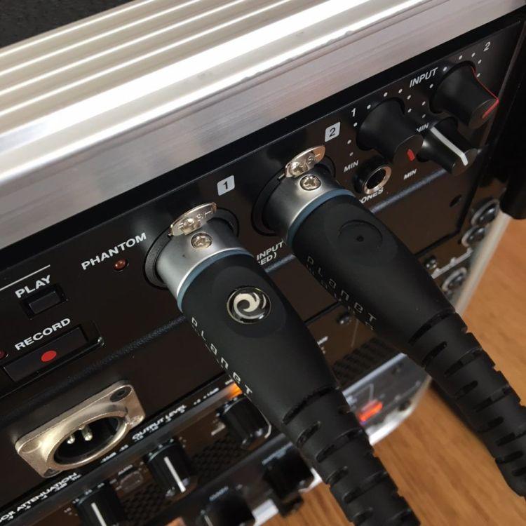 Tascam SD-20M : XLR coincés - direction le SAV