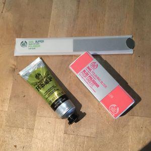 Bloc polissoir (Body-shop)