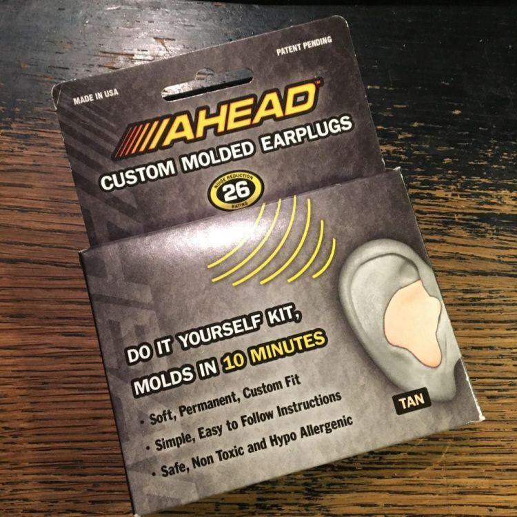 Ahead custom molded earplugs