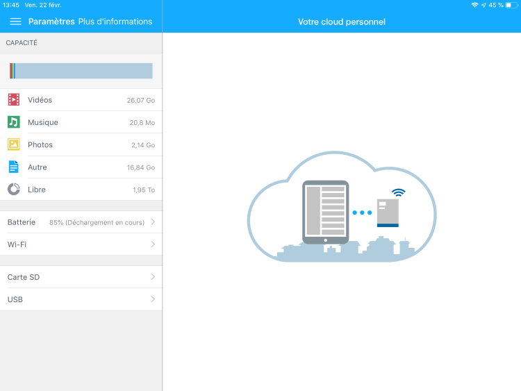WD - application My Cloud