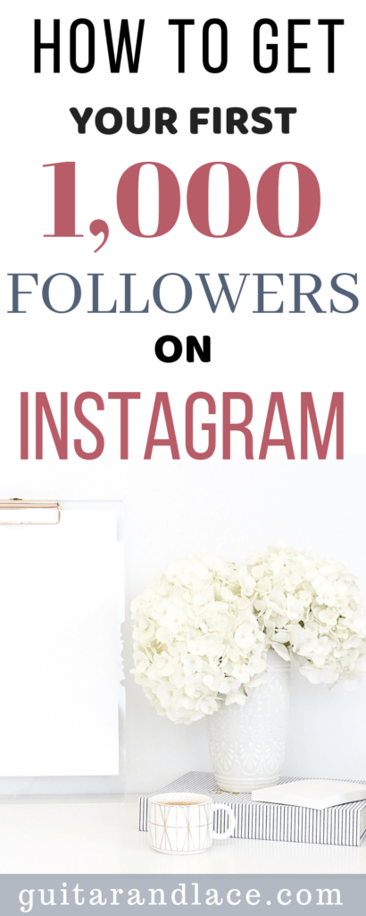 Instagram Tips: How to get Your first 1,000 Followers  