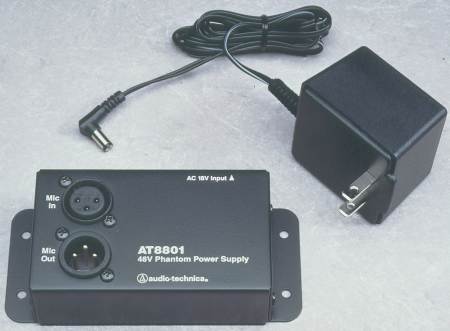 Audio-Technica AT8801 Single-Channel Microphone 48V