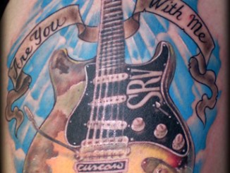 tatoo stevie ray vaughan