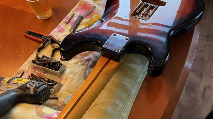 how to build a parts guitar