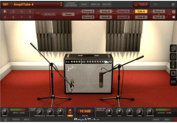 Amplitube the app | Best apps for guitarists