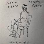 Stuck With U Chords Guitar Piano and Lyrics  | ARIANA GRANDE feat JUSTIN BIEBER