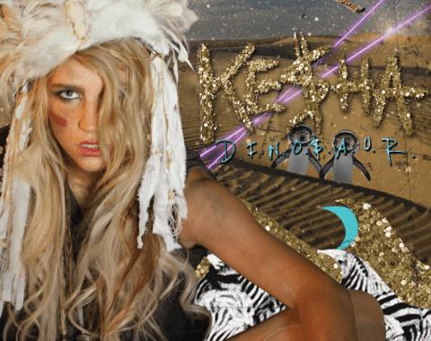 Kesha | Dinosaur Chords Guitar Piano and Lyrics