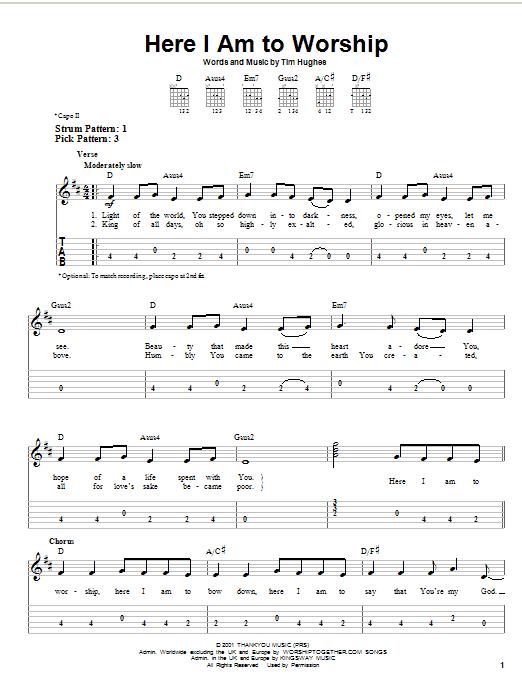 Beginner Guitar Worship Songs : beginner, guitar, worship, songs, Music, Instrument:, Worship, Songs, Guitar, Chords