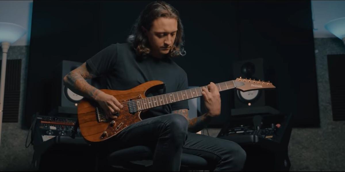 Jesse Cash guitar play through