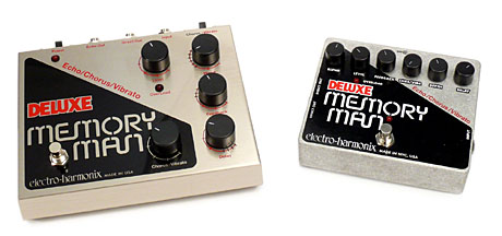 Electro-Harmonix Deluxe Memory Man Old and New