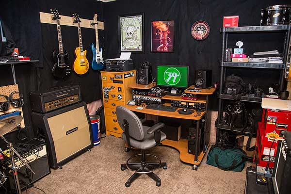 wall mounted chair rack circle couch setting up an ideal guitar practice space - gear finder