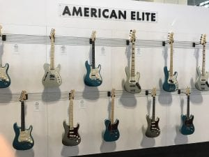 Fender Guitars American Elite New Colors SNAMM17
