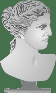 Greek Goddess bust