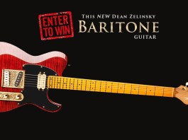 Dean Zelinsky Baritone Dellatera Guitar Giveaway