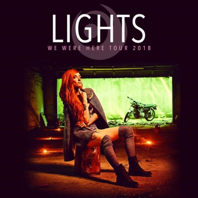 Lights 2018 Tour Poster