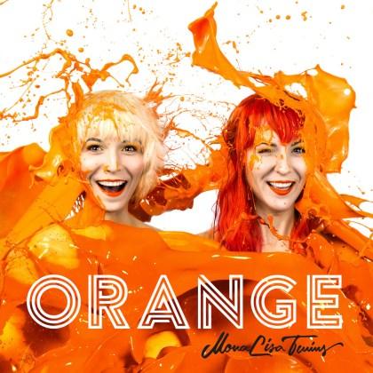 MonaLisa Twins Orange Art Work