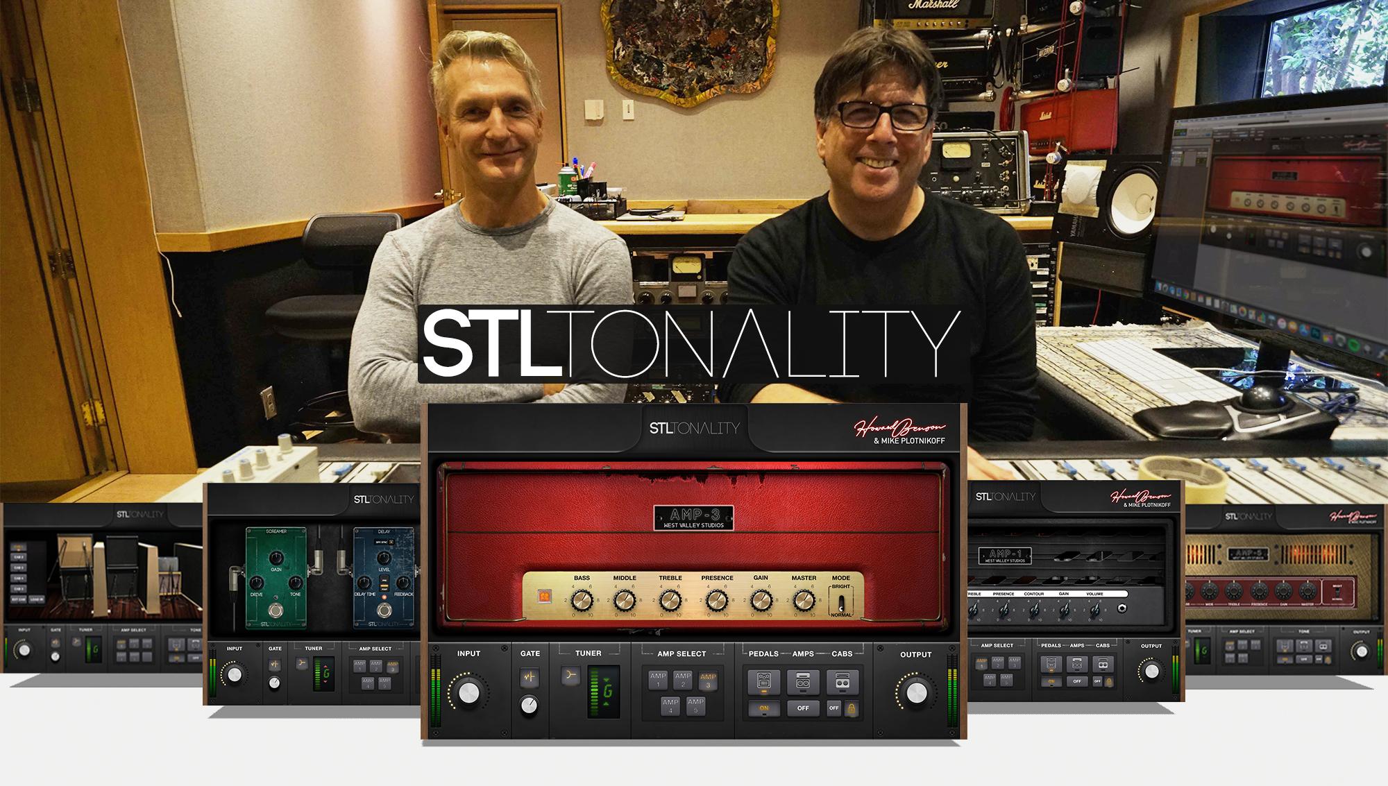 STL Tonality Howard Benson Guitar Plug-In Suite Now
