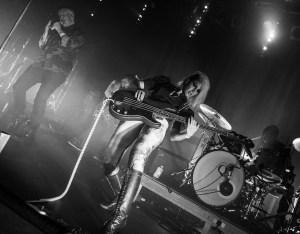 bassist Ashley Reeve photo taken by emmanuel poteau