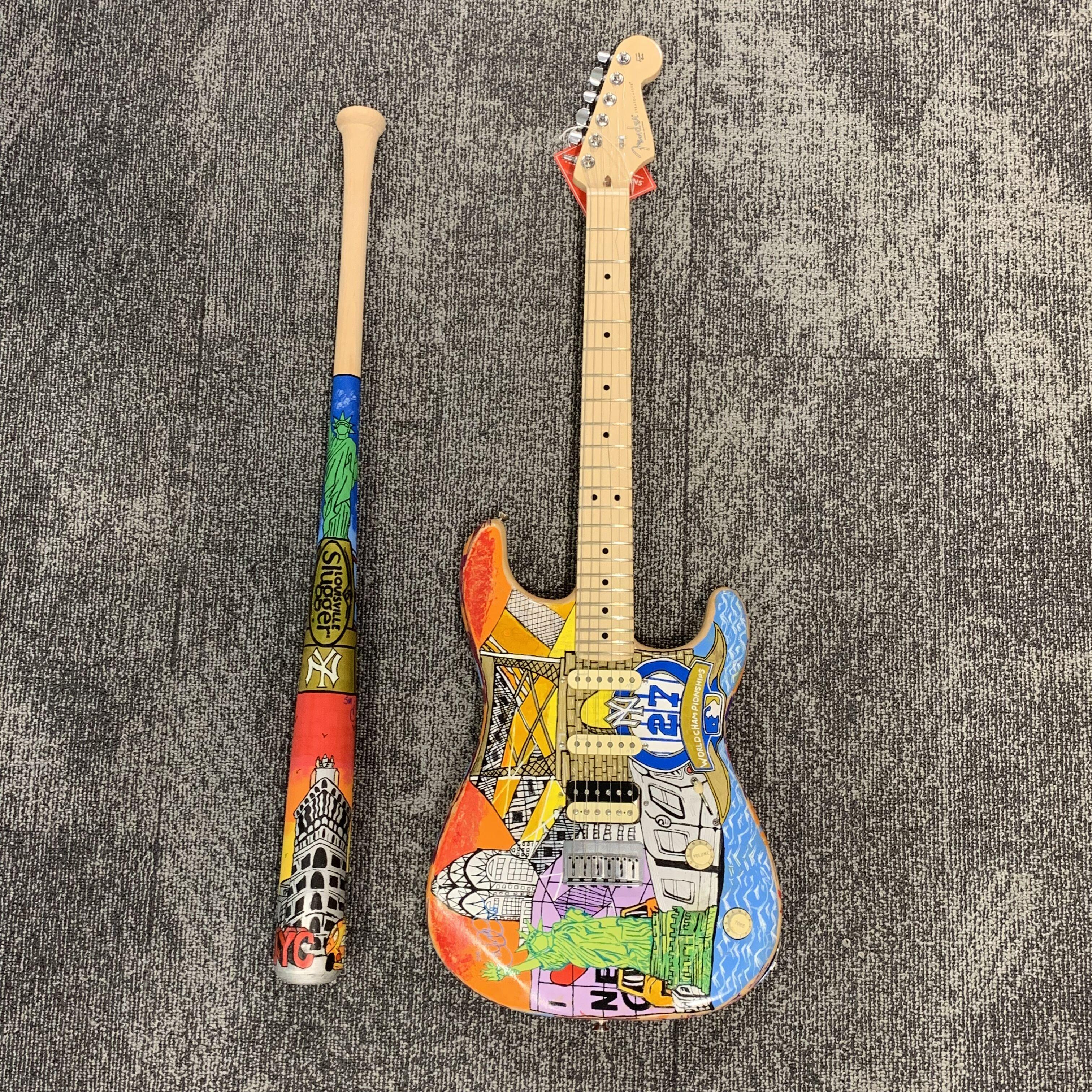 Fender® And Louisville Slugger® Hit A Grand Slam to Start