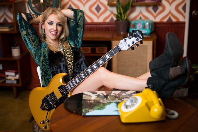 Tone Talk with Britt Lightning - Guitar Girl Magazine