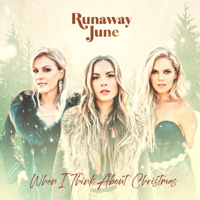 Runaway June When I Think About Christmas album cover